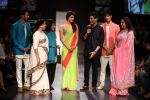 Priyanka Chopra, Asha Bhosle, Hema Malini, Siddharth Malhotra, Varun Dhawan,Manish walk the ramp for Manish Malhotra Show at Lakme Fashion Week 2013 Day 1 in Grand Hyatt, Mumbai on 22nd March 20 (152).JPG
