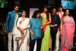 Priyanka Chopra, Asha Bhosle, Hema Malini, Siddharth Malhotra, Varun Dhawan,Manish walk the ramp for Manish Malhotra Show at Lakme Fashion Week 2013 Day 1 in Grand Hyatt, Mumbai on 22nd March 2013 (149).JPG