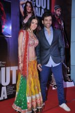Sunny Leone and Tusshar Kapoor Promotes Shootout at Wadala in PVR, Mumbai on 22nd March 2013 (23).JPG