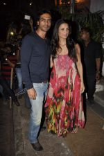 Arjun Rampal, Mehr Jessia at Nikhil Advani_s bday bash in Olive, Mumbai on 23rd March 2013 (51).JPG
