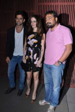 Hrithik Roshan, Suzanne Roshan, Anurag Kashyap at Kangana_s birthday bash in Aurus, Mumbai on 23rd March 2013 (250).JPG