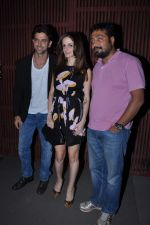 Hrithik Roshan, Suzanne Roshan, Anurag Kashyap at Kangana_s birthday bash in Aurus, Mumbai on 23rd March 2013 (251).JPG