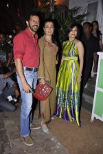 Mini Mathur, Maria Goretti, Kabir Khan at Nikhil Advani_s bday bash in Olive, Mumbai on 23rd March 2013 (93).JPG
