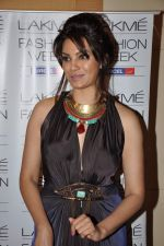 Diana Hayden on Day 3 at Lakme Fashion Week 2013 in Grand Hyatt, Mumbai on 24th March 2013 (101).JPG