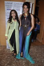 Diana Hayden on Day 3 at Lakme Fashion Week 2013 in Grand Hyatt, Mumbai on 24th March 2013 (97).JPG