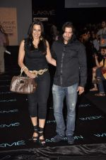 Pooja Bedi, Akashdeep Saigal on Day 3 at Lakme Fashion Week 2013 in Grand Hyatt, Mumbai on 24th March 2013 (155).JPG