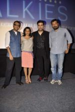 Anurag Kashyap, Dibakar Banerjee, Zoya Akhtar, Karan Johar attend promo launch of Bombay Talkies in Mumbai on 25th March 2013 (28).JPG