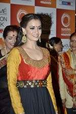 Dia Mirza at Vikram Phadnis Show at Lakme Fashion Week 2013 Day 4 in Grand Hyatt, Mumbai on 25th March 2013 (207).JPG