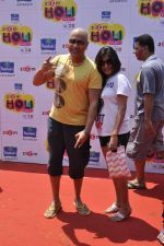 Baba Sehgal at zoom holi bash in Mumbai on 27th March 2013 (22).JPG