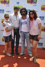 Rashmi Desai, nandish sandhu, Rohit Khurana at zoom holi bash in Mumbai on 27th March 2013 (113).JPG