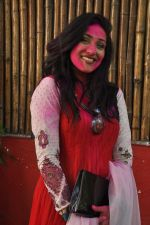 Rituparna Sengupta at Shabana Azmi and Javed Akhtar Holi Celebration in Mumbai on 27th March 2013 (54).JPG