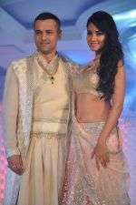Sonal Chauhan, Rohit Roy walk for Neeta Lulla_s Shehnai collection in J W Marriott, Mumbai on 29th March 2013 (156).JPG