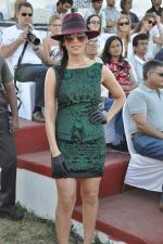 Sofia Hayat at Gitanjali Polo Match and Nachiket Barve fashion show in RWITC, Mumbai on 30th March 2013 (38).JPG