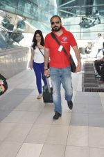 Bunty Walia return from Delhi charity match in Mumbai on 31st March 2013 (39).JPG