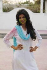 Tina Desae on location of film Dussehra in Pune on 1st April 2013 (17).jpg