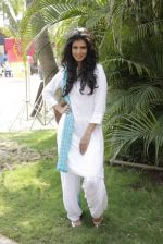 Tina Desae on location of film Dussehra in Pune on 1st April 2013 (24).jpg