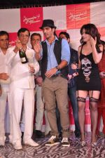 Ameesha Patel, Zayed Khan, Abbas Mastan at Amessha Patel_s production house launches new film ventures in Mumbai on 2nd April 2013 (47).JPG