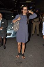 Mugdha Godse leave for TOIFA DAY 2 in Mumbai on 2nd April 2013 (27).JPG