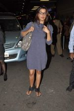 Mugdha Godse leave for TOIFA DAY 2 in Mumbai on 2nd April 2013 (28).JPG