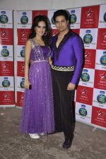 Karan Mehra, Nikita Rawal on the sets of Nach Baliye Shrimaan & Shrimati in Filmistan, Mumbai on 3rd April 2013 (37).JPG