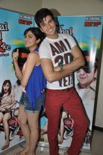 Dev Goel and Adah Sharma promote Hum Hai Raahi Car Ke in Mumbai on 6th April 2013 (15).JPG