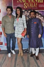 Ayushmann Khurrana, Tahira Khurrana at Nautanki Saala screening in Liberty Cinema, Mumbai on 11th April 2013 (127).JPG