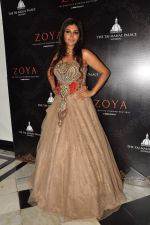 Nisha Jamwal at Zoya introduces exquisite Jewels of the Crown jewellery line in Mumbai on 13th April 2013 (140).JPG