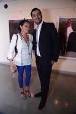 Bandana Tewari and Shaunak Bali of Tod_s at the Maimouna Guerresi photo exhibition in association with Tod_s in Mumbai.JPG