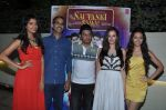 Bhushan Kumar, Gaelyn Mendonca, Pooja Salvi, Rohan Sippy, Evelyn Sharma at nautanki saala success bash in Andheri, Mumbai on 16th April 2013 (49).JPG
