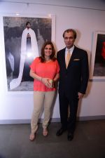 Debendra Bharma and Swapan Bharma at the Maimouna Guerresi photo exhibition in association with Tod_s in Mumbai.JPG