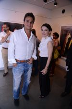 Nikhil Nayar and wife Samantha Nayar at the Maimouna Guerresi photo exhibition in association with Tod_s in Mumbai.JPG