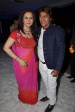 Aadesh Shrivastav at Poonam Dhillon_s birthday bash and production house launch with Rohit Verma fashion show in Mumbai on 17th April 2013 (56).JPG