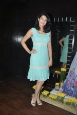 Yukta Mookhey at the Launch of Maheka Mirpuri_s The Yellow Rose Collection in Mumbai on 18th April 2013 (40).JPG