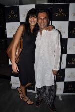 Aki Narula, Binal Trivedi at James Ferriera Designs A Unique  Ring Collection Exclusively For Gehna Jewellers in Mumbai on 19th April 2013 (66).JPG