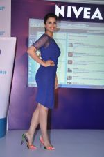 Parineeti Chopra unveils the new range from Nivea in Taj Land_s End, Bandra, Mumbai on 22nd April 2013 (1).JPG