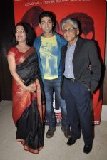Ruslaan Mumtaz, Anjana Mumtaz at  I don_t love you film music launch in Mumbai on 22nd April 2013 (21).JPG