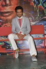 Ritesh Deshmukh promotes India_s Dancing Superstar show for Star Plus in Rangsharda, Mumbai on 23rd April 2013 (30).JPG