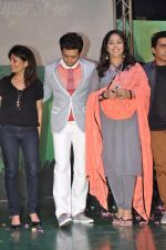 Ritesh Deshmukh, Geeta Kapur promotes India_s Dancing Superstar show for Star Plus in Rangsharda, Mumbai on 23rd April 2013 (39).JPG