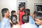 Chris Gayle spend time with NGO kids in Worli, Mumbai on 26th April 2013 (13).JPG