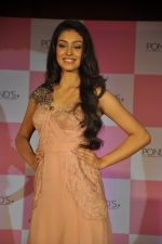 Miss India Navneet Kaur Dhillon unveil POnds BB+ cream in Powai, Mumbai on 26th April 2013 (10).JPG