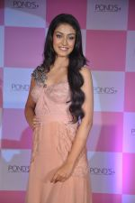 Miss India Navneet Kaur Dhillon unveil POnds BB+ cream in Powai, Mumbai on 26th April 2013 (16).JPG