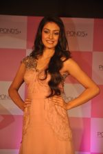 Miss India Navneet Kaur Dhillon unveil POnds BB+ cream in Powai, Mumbai on 26th April 2013 (9).JPG