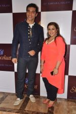 Kushal Punjabi at Kushal Punjabi and Shilpa Agnihotri_s Maiden company Dream Catcher unveils Samaira Tolani_s  SHOCOLAAT on 28th April 2013   (64).JPG