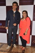 Kushal Punjabi at Kushal Punjabi and Shilpa Agnihotri_s Maiden company Dream Catcher unveils Samaira Tolani_s  SHOCOLAAT on 28th April 2013   (65).JPG