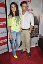 Preity Zinta, Rhehan Malliek at Ishq in Paris promotional activity in Cinemax, Mumbai on 30th April 2013 (29).JPG