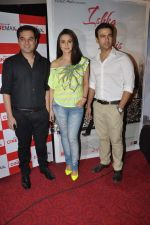 Prem Raj, Preity Zinta, Rhehan Malliek at Ishq in Paris promotional activity in Cinemax, Mumbai on 30th April 2013 (86).JPG