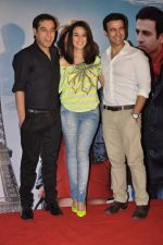 Prem Raj, Preity Zinta, Rhehan Malliek at Ishq in Paris promotional activity in Cinemax, Mumbai on 30th April 2013 (92).JPG
