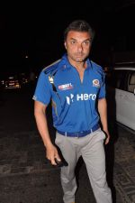 Sohail Khan snapped outside Olive in Mumbai on 30th April 2013 (65).JPG