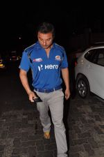 Sohail Khan snapped outside Olive in Mumbai on 30th April 2013 (66).JPG