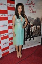 Sophie Choudry at Ishq in Paris promotional activity in Cinemax, Mumbai on 30th April 2013 (82).JPG